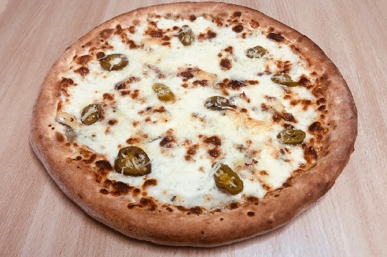 Hot Cheese Pizza