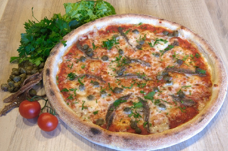 Pizza Anchovies