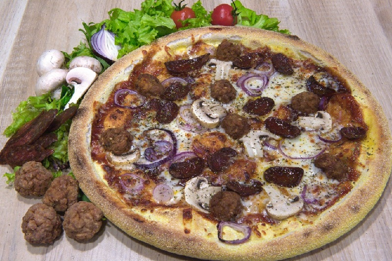 Pizza BBQ Grill