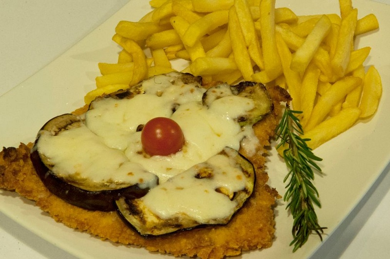 Schnitzel Antipasto