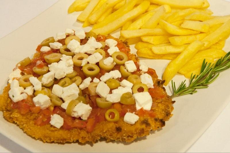 Schnitzel Greek