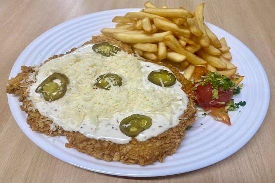 Schnitzel Hot Cheese