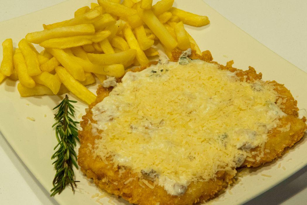 Schnitzel Mediteranean